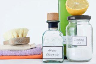 limpieza natural en casa