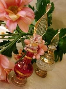 aplicacion del perfume